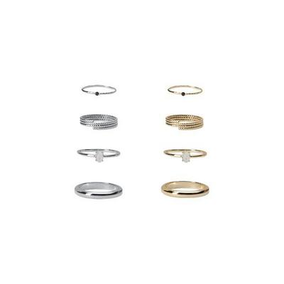 [4개 1세트] 노얄즈 세트 반지