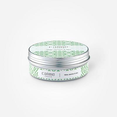 틴케이스 캔들 - 화이트자스민 민트 (White Jasmine Mint) 80g
