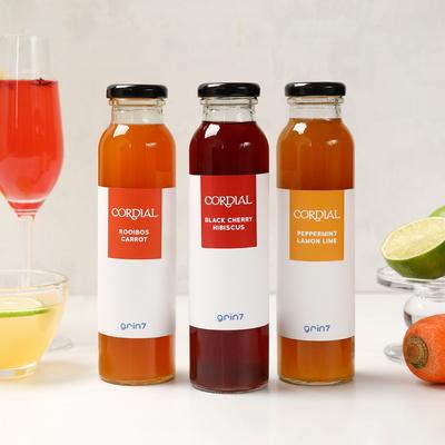 grin7 코디얼 -과일허브 블랜딩 음료베이스