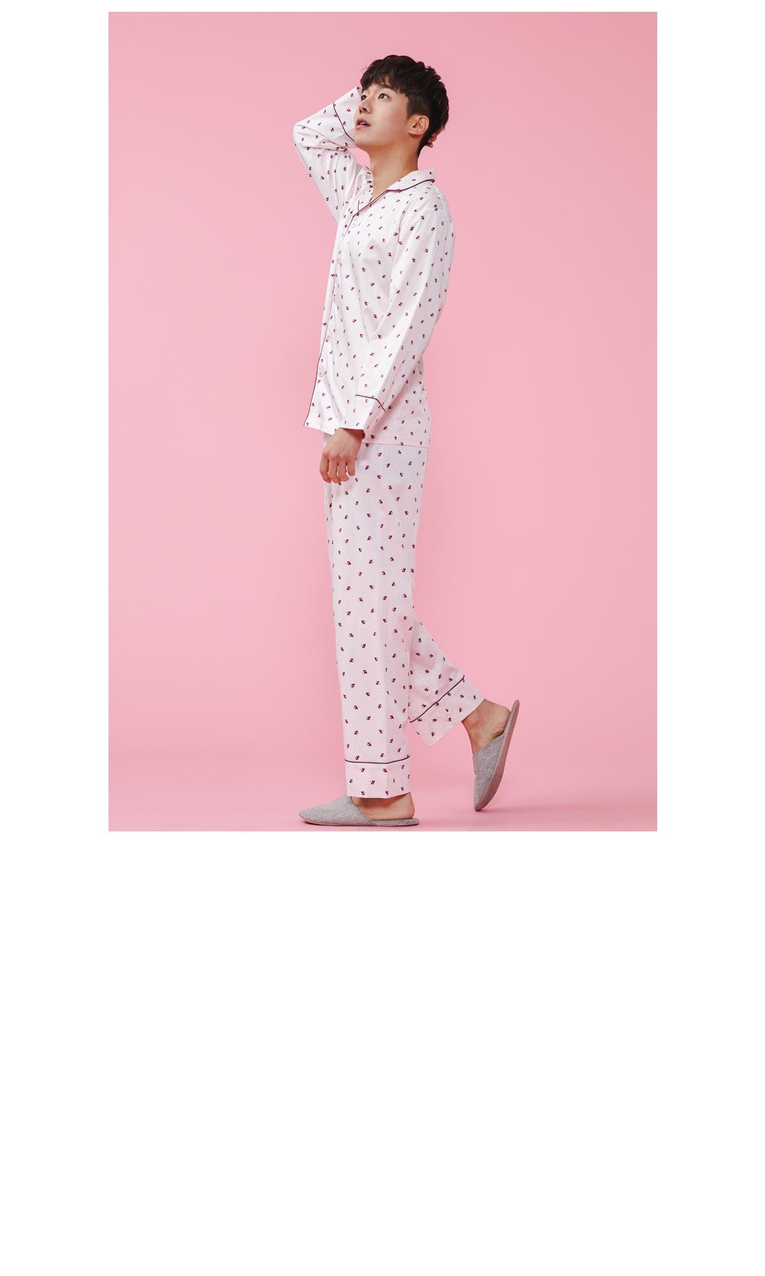 여우 면 스판 신혼부부 커플잠옷 파마자 - 바이메이비, 134,000원, 잠옷, 커플파자마