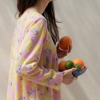 레몬 여성실내복 홈웨어 원피스잠옷