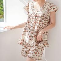 로즈가든 순면 여자 여름잠옷 파자마 세트