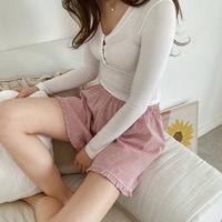 롤리팝 3부 반바지 여자 여름잠옷바지