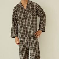 트렌디 면 남성잠옷세트 파자마