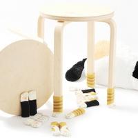 야옹이 의자다리커버 4P (C011)