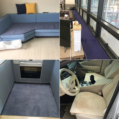 주문제작 카우치쇼파패드 자동차매트 ㄷ자 주방매트 맞춤 제작