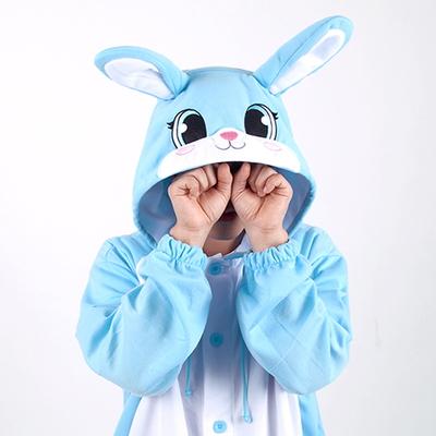 동물캐릭터옷 - 토끼 (블루)