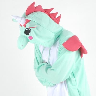 동물캐릭터옷 - 유니콘 (민트)