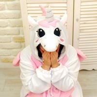 사계절 동물잠옷 유니콘 (핑크)