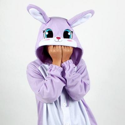 사계절 동물잠옷 토끼 (퍼플)