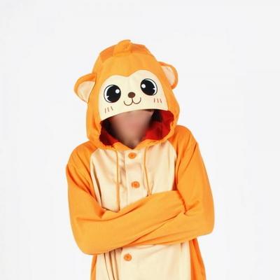 사계절 동물잠옷 원숭이 (오렌지)