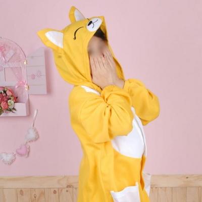 사계절 동물잠옷 여우 (옐로우)