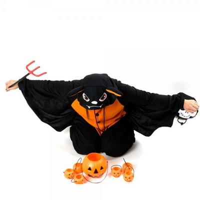 사계절 동물잠옷 박쥐 (오렌지)