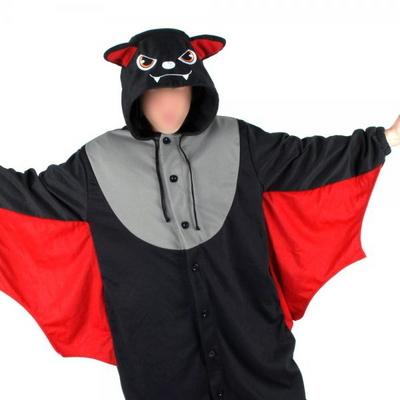 사계절 동물잠옷 박쥐 (레드)