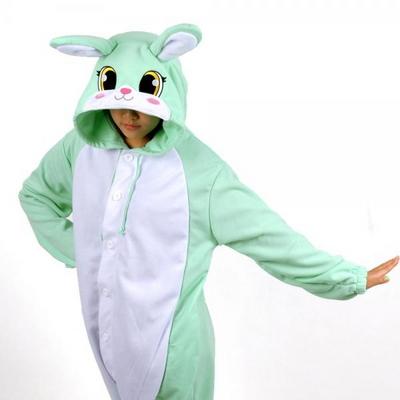 사계절 동물잠옷 토끼 (민트)
