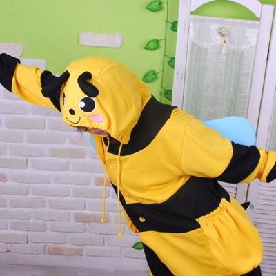 사계절 동물잠옷 꿀벌 (옐로우)