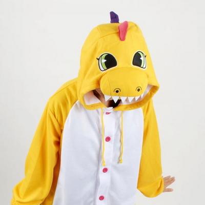 사계절 동물잠옷 공룡 (컬러풀 옐로우)