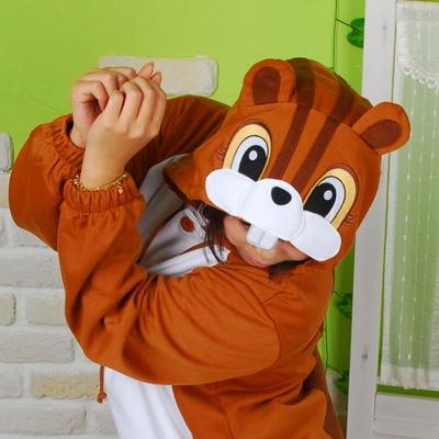 사계절 동물잠옷 다람쥐 (브라운)
