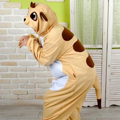 사계절 동물잠옷 미어캣 (아이보리)