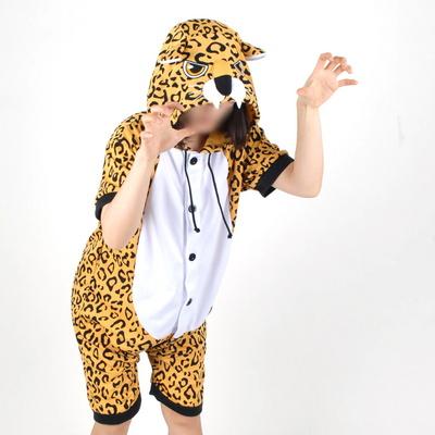 반팔 동물잠옷 표범 (레오파드)