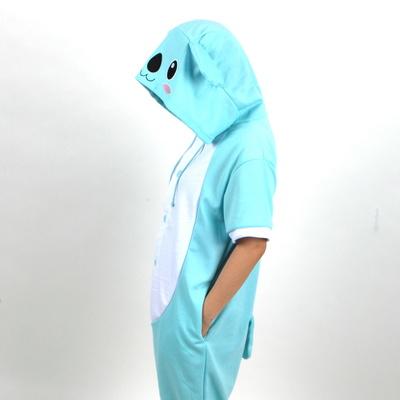 반팔 동물잠옷 코알라 (블루)