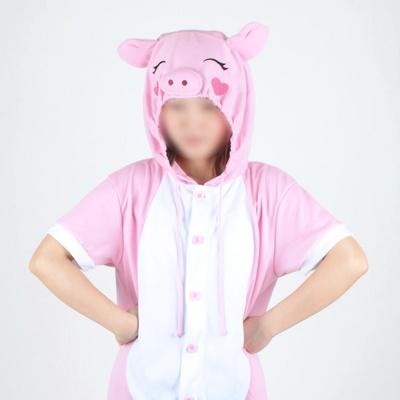 반팔 동물잠옷 돼지 (핑크) / 복돼지