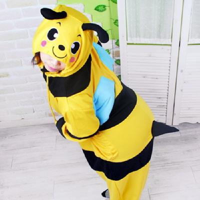 동물캐릭터옷 - 꿀벌 (옐로우)