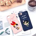 (아이폰6 6플러스)파워퍼프걸_컬러젤리케이스_3TYPE
