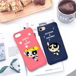 (아이폰8)파워퍼프걸_컬러젤리케이스_3TYPE