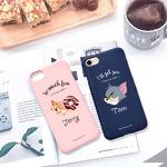 (아이폰8)톰과제리_컬러젤리케이스_2TYPE