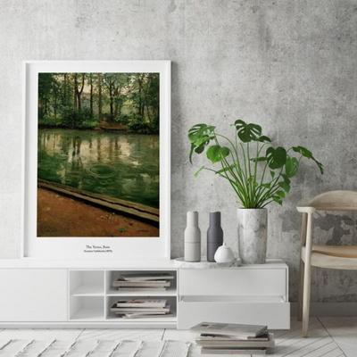 카유보트 인테리어 그림 액자 포스터 예르강의 비