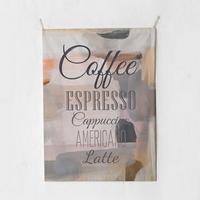 패브릭 포스터 태피스트리 가리개 커튼 커피메뉴 대형