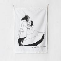 패브릭 포스터 태피스트리 가리개 커튼 뷰티앤더비스트 대형