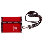 1223 Velcro Wallet (레드)