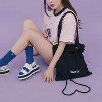 String Bag (블랙)