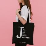 J bag (블랙)