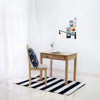 원목 서랍 테이블 80