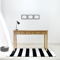 원목 서랍 테이블 120