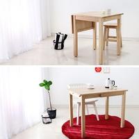 원목 접이식 슬라이딩 테이블 소