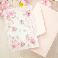 벚꽃카드 YD-22
