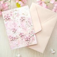 벚꽃카드 YD-23