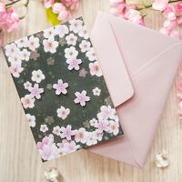 벚꽃카드 JD-15