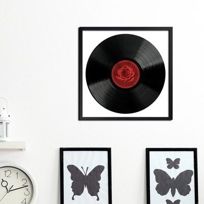 LP 메탈 액자 - rose vinyl
