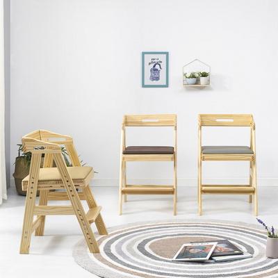 피노키오 원목 어린이 식탁의자