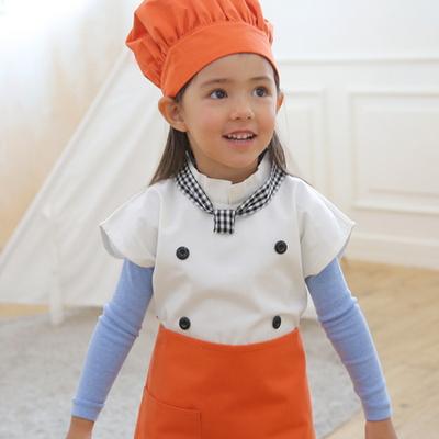 귀여운 요리사 앞치마 세트 - 아동 앞치마