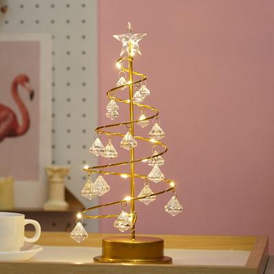 (클라모프) 크리스마스 크리스탈 트리 무드등