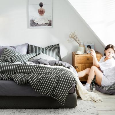 북유럽풍 침대커버세트 S
