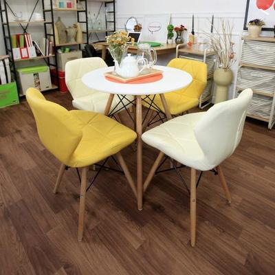 큐브에펠 700 4인 식탁 테이블세트(의자4개포함)
