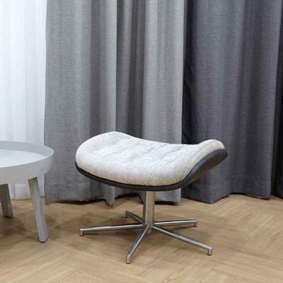 림스코지 패브릭 1인 안락 스툴 보조 회전 의자