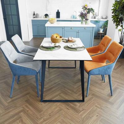 제르마노 4인용 세라믹 식탁 헨리코 의자 4개 세트